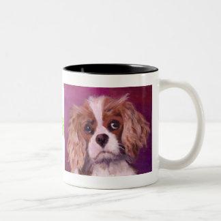 King Charles Spaniel Two-Tone Coffee Mug