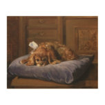 King Charles Spaniel Wood Canvases