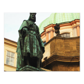 King Charles statue, Prague Card
