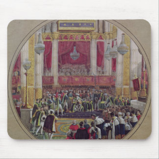 King Charles X  receiving the Knights Mouse Pad