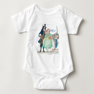 King Charless II & Nell Gywn Baby Bodysuit