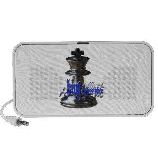 King Chess Piece Laptop Speaker