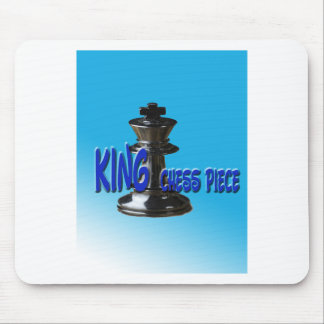 King Chess Piece With Background Mousepad