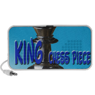 King Chess Piece With Background PC Speakers