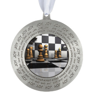 King Chess Play Ornament