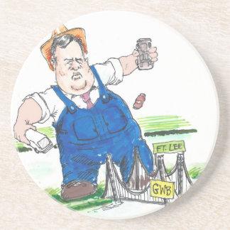 King Christie & GW Bridge Funny Coaster