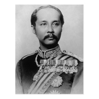 King Chulalongkorn Rama V of Thailand Postcard