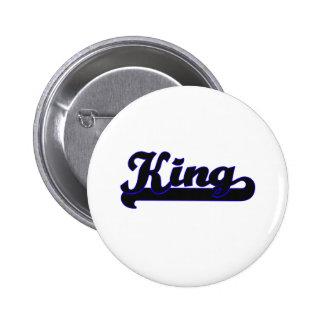 King Classic Job Design 2 Inch Round Button