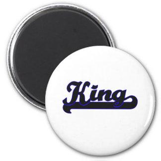 King Classic Job Design 2 Inch Round Magnet