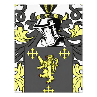 King Coat of Arms Personalized Letterhead