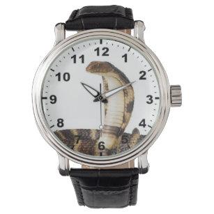 """King cobra"" design wrist watch"