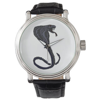 King Cobra Snake Art Watch