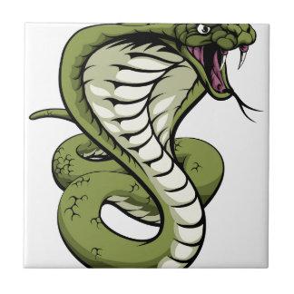King Cobra Snake Tile