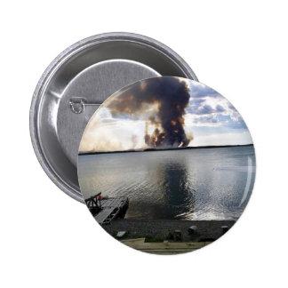 King County Creek Fire 2005 Pinback Button
