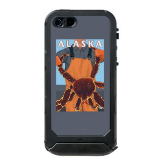 King Crab and Fisherman Vintage Travel Poster Incipio ATLAS ID™ iPhone 5 Case