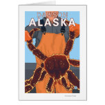 King Crab Fisherman - Dawson, Alaska Card