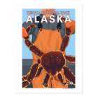 King Crab Fisherman - Denali National Park, Postcard