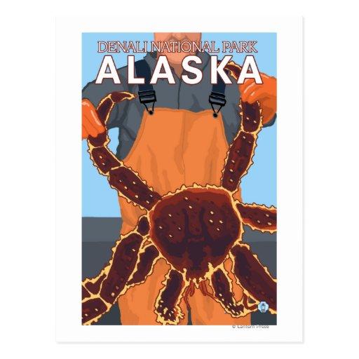 King Crab Fisherman - Denali National Park, Post Card