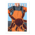 King Crab Fisherman - Seattle, Washington Postcard