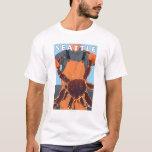King Crab Fisherman - Seattle, Washington T-Shirt