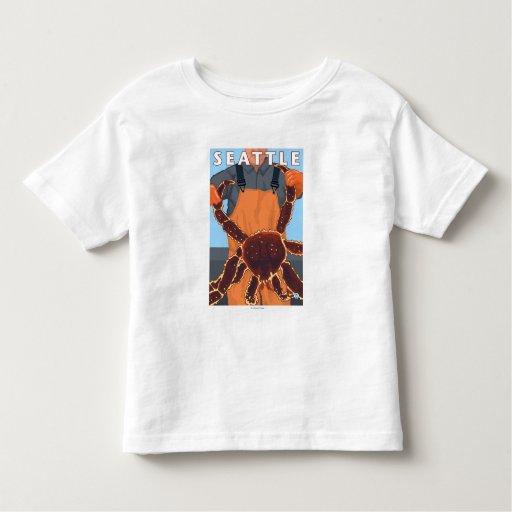 King Crab Fisherman - Seattle, Washington Toddler T-shirt
