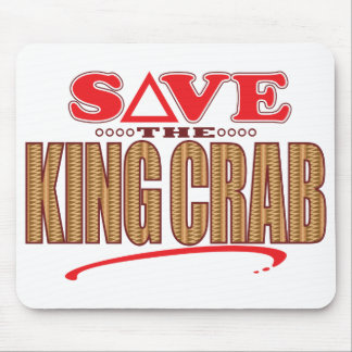 King Crab Save Mouse Pad