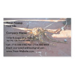 King Crab Snagged and Released Business Card Templates