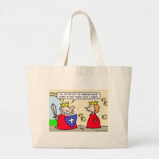 king create jobs canvas bags