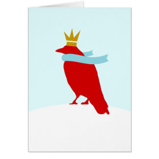 King Crow Card