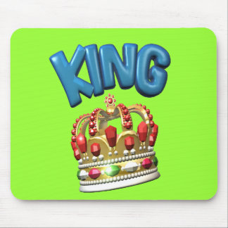 king.crown mouse pad