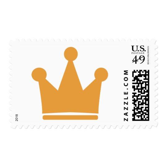king crown postage