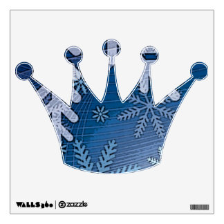 KING CROWN WALL STICKER