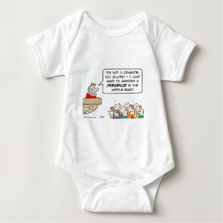 king crusade presence middle east baby bodysuit