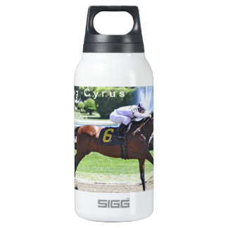 King Cyrus with Javier Castellano Insulated Water Bottle