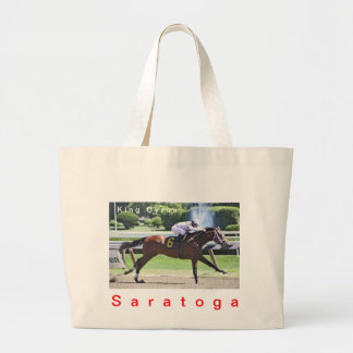 King Cyrus with Javier Castellano Large Tote Bag