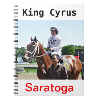 King Cyrus with Javier Castellano Notebook