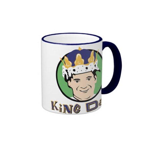 King Dad Coffee Mugs