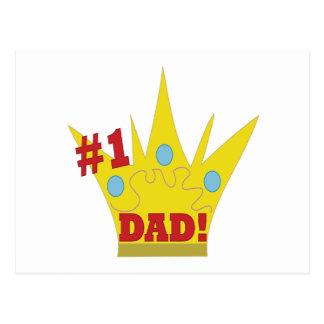 King Dad Postcards