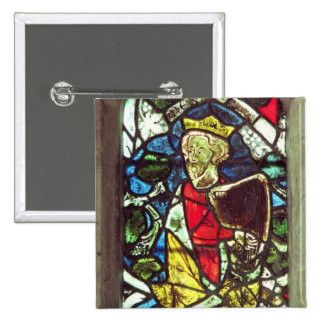 King David, 14th century Pinback Button