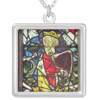 King David, 14th century Silver Plated Necklace