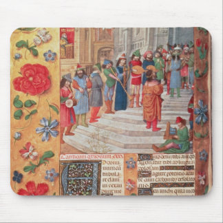 King David and Musicians, from the Breviary Mouse Pad