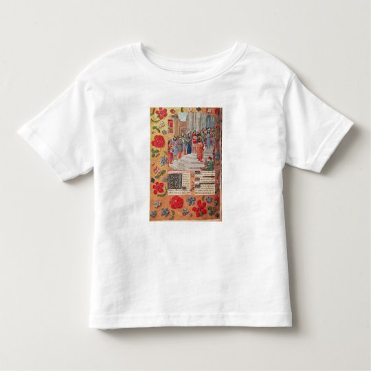 King David and Musicians, from the Breviary Toddler T-shirt