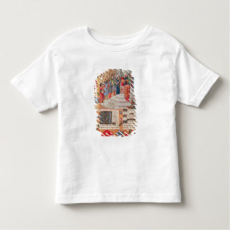 King David and Musicians, from the Breviary Tee Shirt