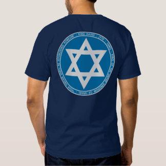 King David Blue & White Seal Shirt