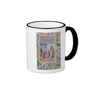King David coveting Bathsheba Mugs