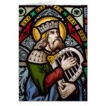 King David Greeting Card