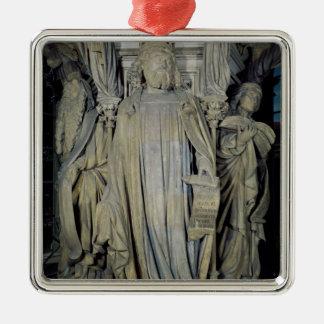 King David, Moses  and Jeremiah Metal Ornament