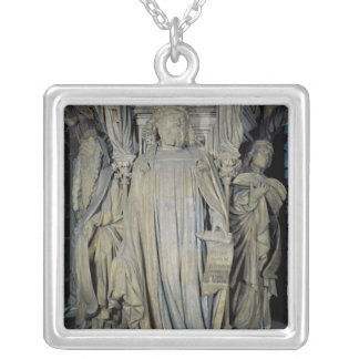King David, Moses  and Jeremiah Silver Plated Necklace