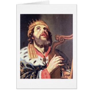 King David (panel) Card