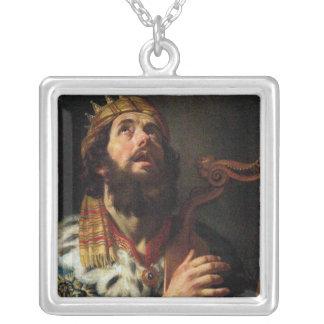 King David Playing the Harp Custom Jewelry
